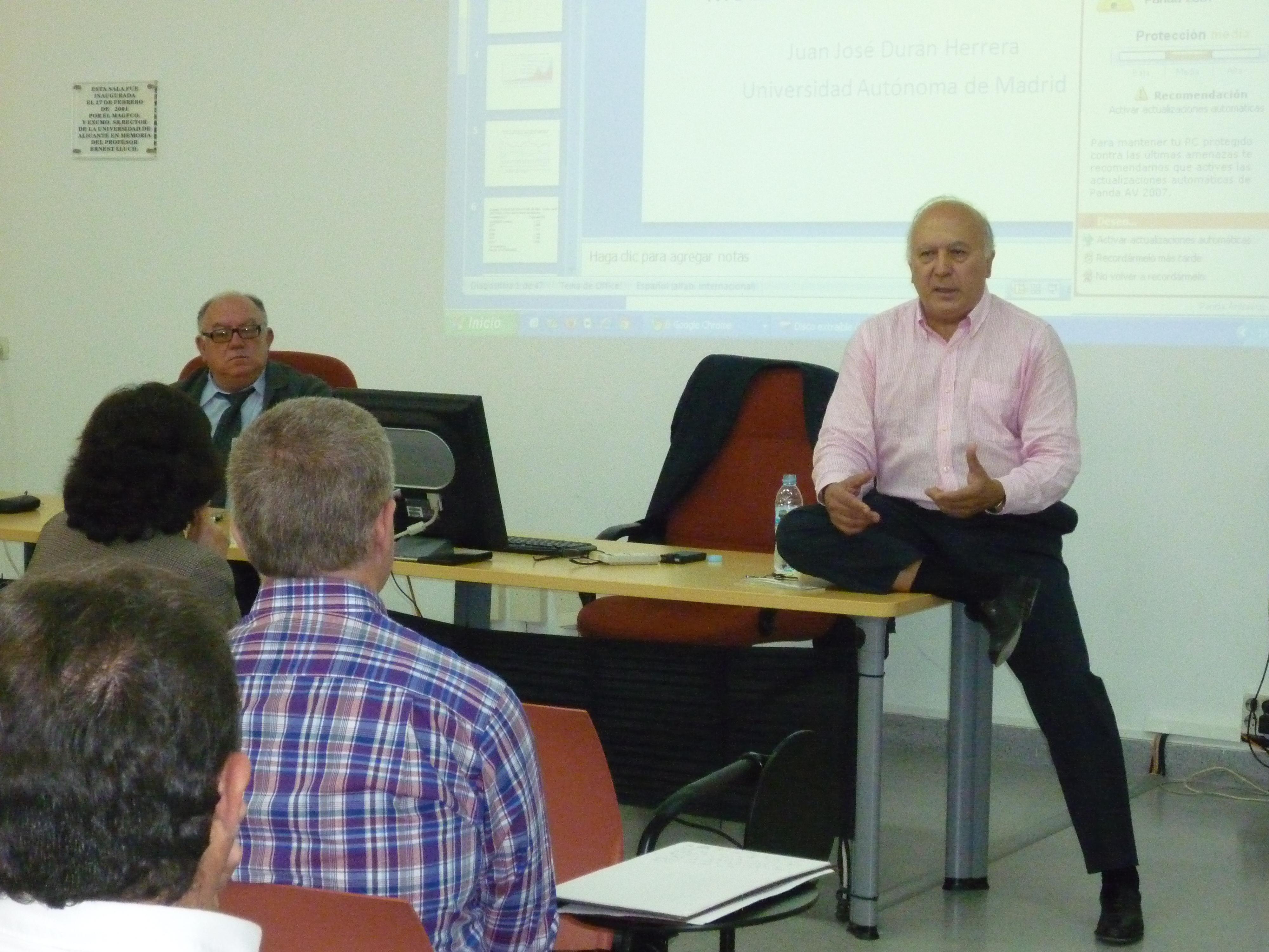 Mi rcoles 9 de mayo de 2012 ciclo de conferencias for Maestros en el extranjero