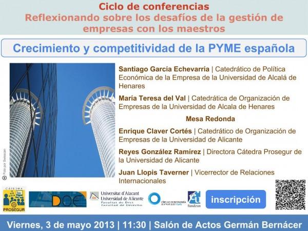Plantilla seminario PYME española 3 de mayo de 2013
