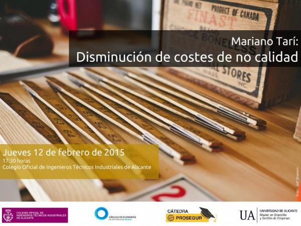 Plantilla disminución de costes - 12 febrero 2015