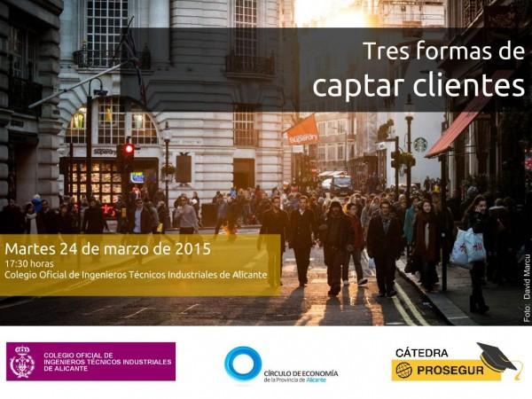 Plantilla 3 formas captar clientes - 24 marzo 2015