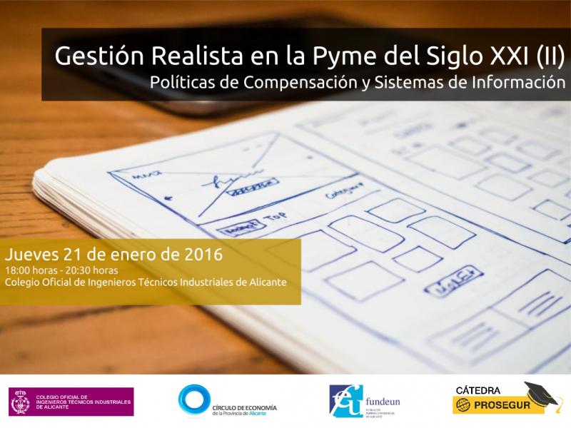 Plantilla Gestión Realista en la Pyme del Siglo XXI (II) - 21 de enero de 2016
